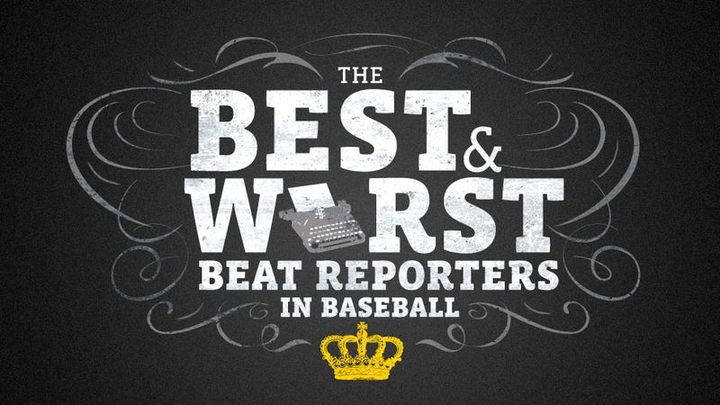 Illustration for article titled The Best And Worst Baseball Beat Reporters, According To You