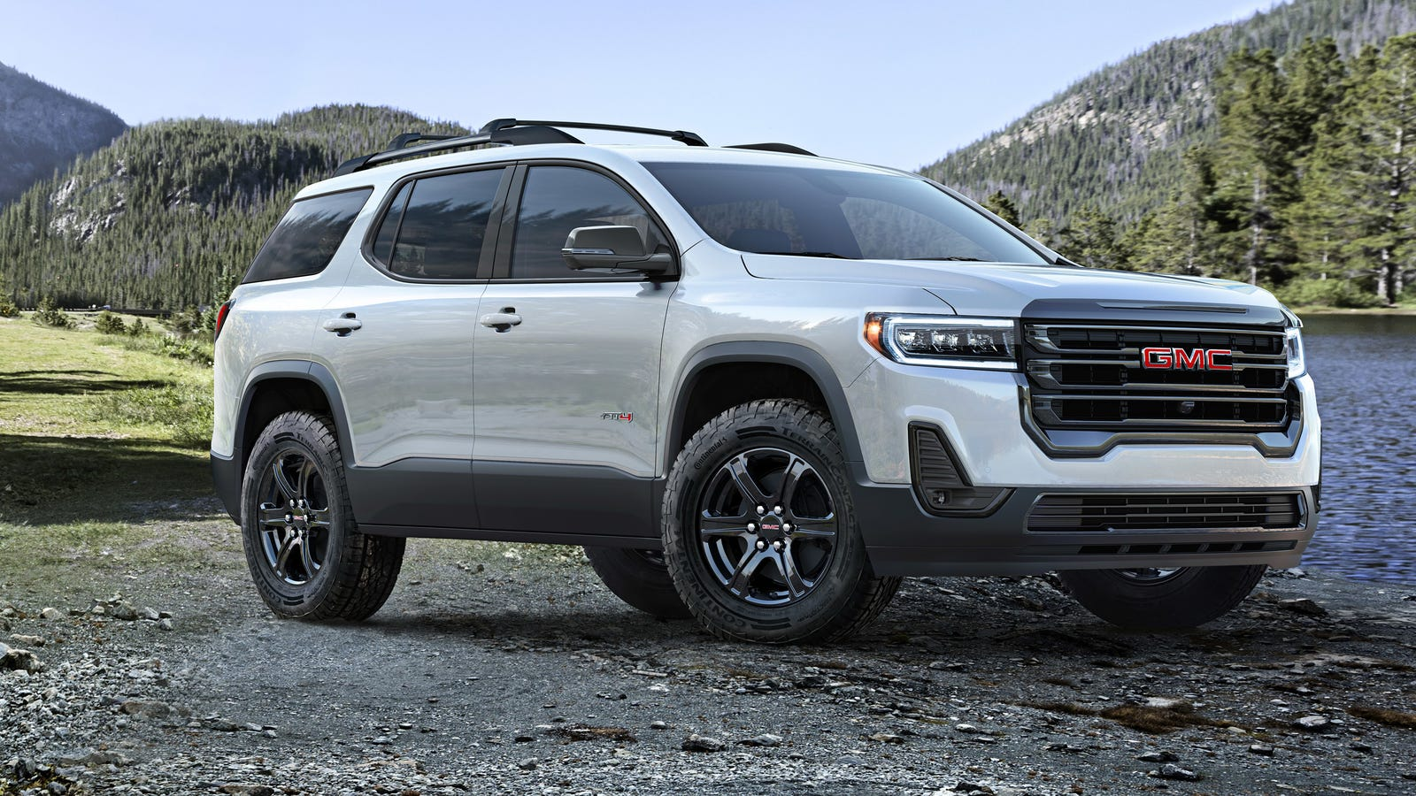 The 2020 GMC Acadia Gets an 'Off-Road' Look and a Wacky Push-Button Shifter - Jalopnik
