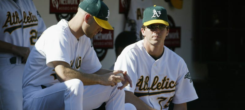 Illustration for article titled We Might Actually Get A Barry Zito Versus Tim Hudson Matchup