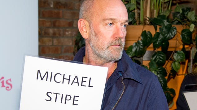 Michael Stipe's first solo track is all about synths, whispers, and climate change activism