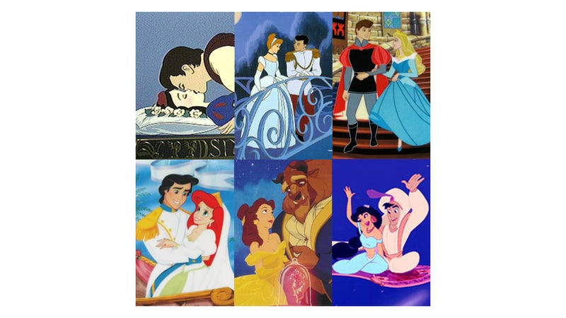 """Illustration for article titled Researchers: Disney Movies """"Elevate"""" Heterosexuality"""
