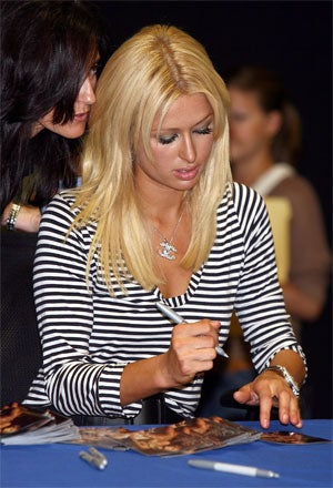 Illustration for article titled Paris Hilton Proof That 'Outsider Art' Is Neither 'Outsider' Nor 'Art'