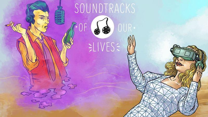 Solveig Dommartin dreams of Nick Cave (Illustration: Nick Wanserski)