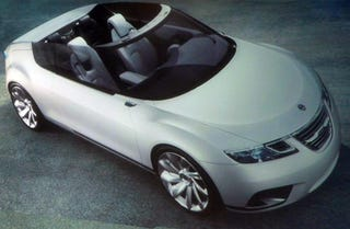 Illustration for article titled Saab 9X Air Concept To Debut In Paris, Previewed In Detroit