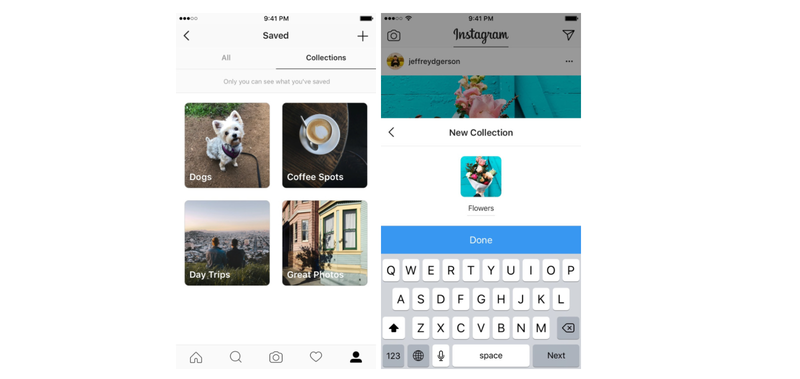 Illustration for article titled Instagram Adds Collections to Help Organize Bookmarked Posts