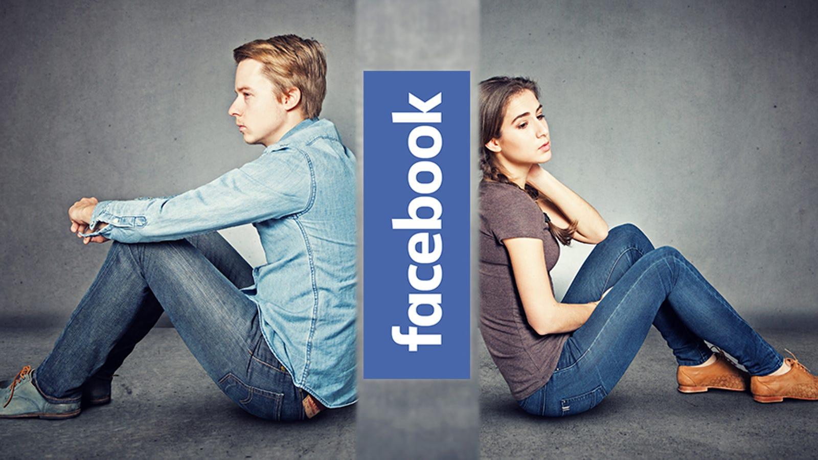 Facebook Is Testing a Weird Way to Make Break-Ups Easier