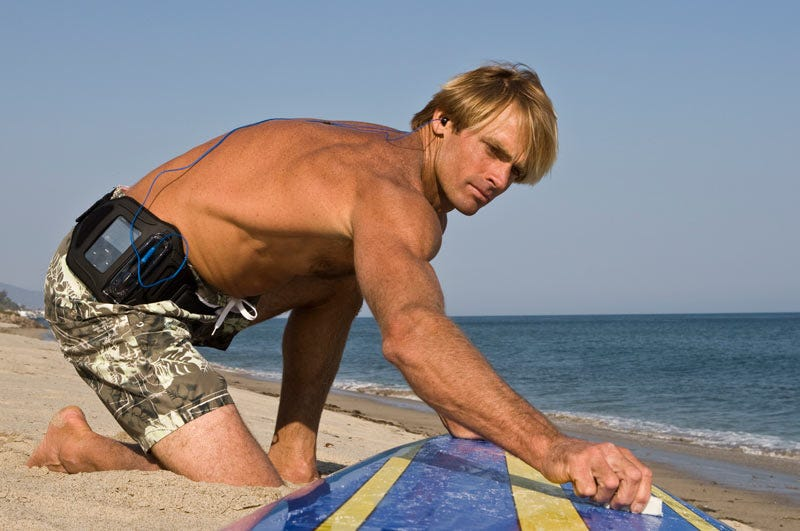 Illustration for article titled Laird Hamilton: Why I Surf With Music