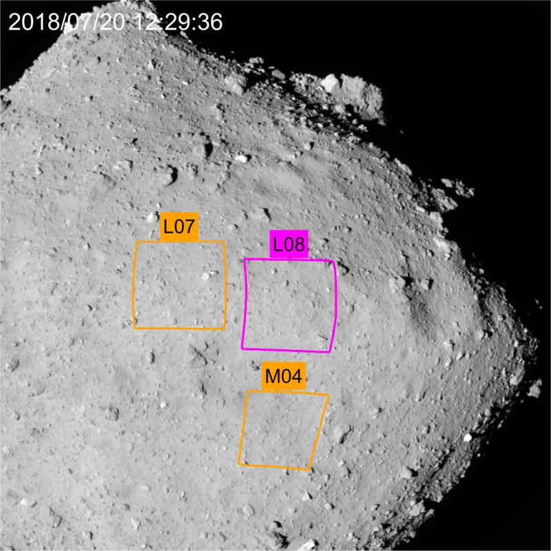 Japonská sonda Hayabusa2 krátce po půlnoci úspěšně odebrala vzorky hornin z planetky Ryugu