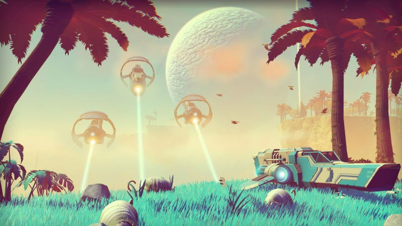 Illustration for article titled Guy Starts Leaking No Man's Sky Videos, Changes His Mind Because He Doesn't Want To Spoil People
