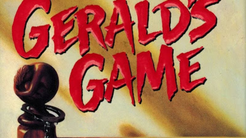 Illustration for article titled Gerald's Game joins all the other Stephen King adaptations in development