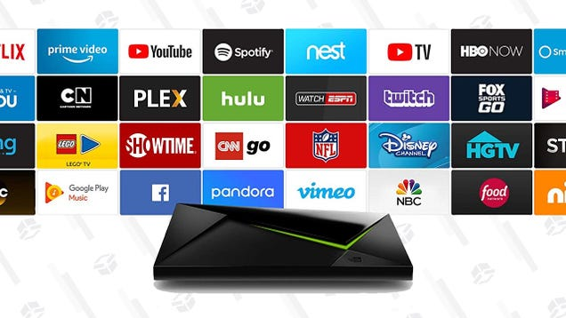 Save $40 On the Quietly Excellent NVIDIA Shield TV, Plus a Free Echo Dot