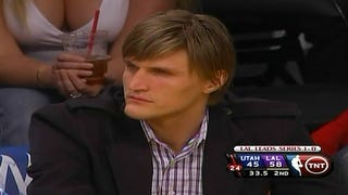 """Illustration for article titled The """"Andrei Kirilenko's Yearly Free Pass Watch"""" Reaches DEFCON-2"""