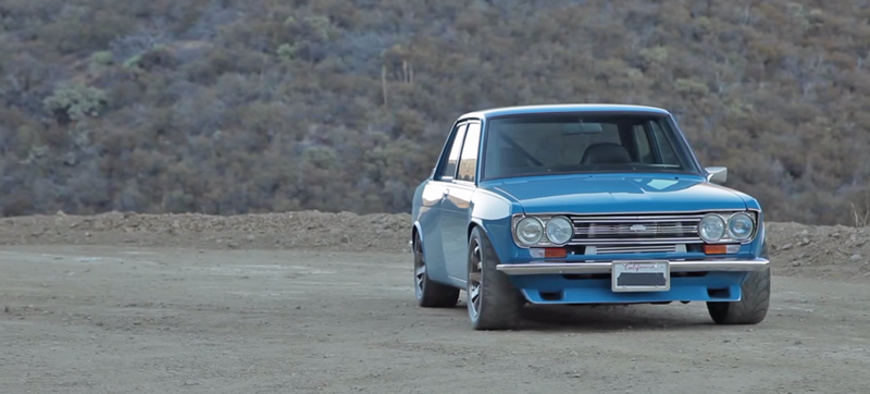 This Incredible Datsun 510 Has An SR20 Turbo Motor And