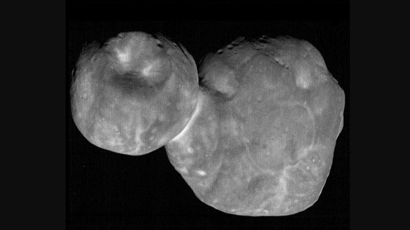 Illustration for article titled New Horizons Beams Back Its Clearest Images of Ultima Thule Yet