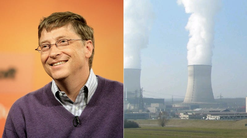 Illustration for article titled Bill Gates Building Nuke Plant for China