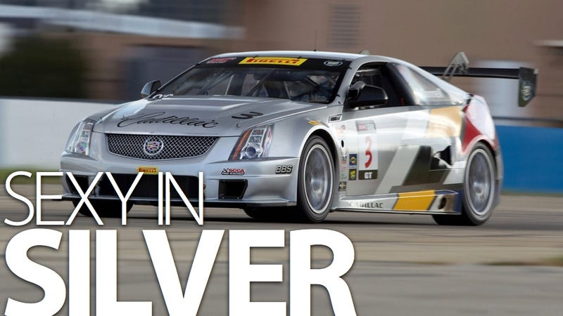Illustration for article titled Cadillac CTS-V Coupe Racer hits Sebring for more hot testing