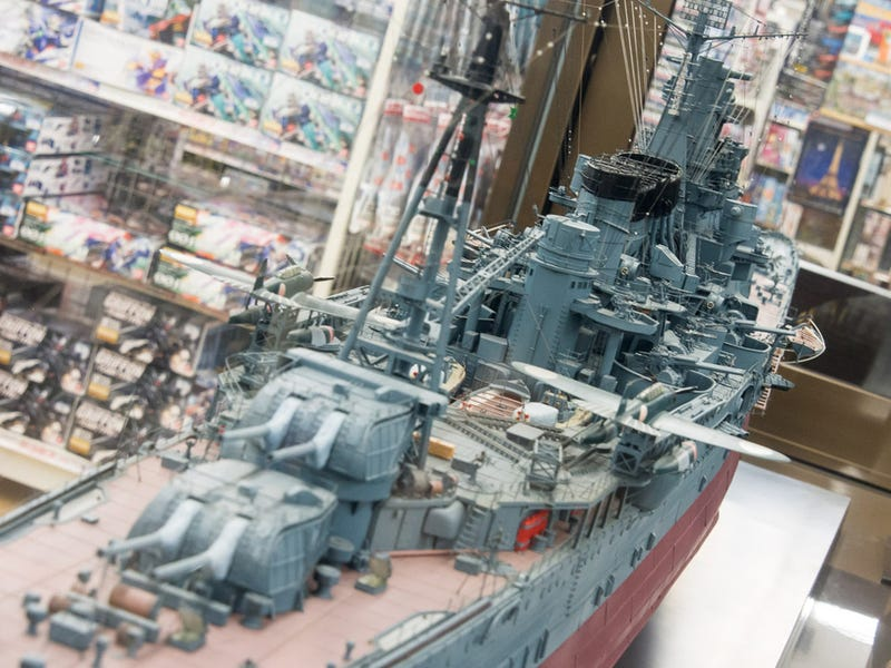 Illustration for article titled Check Out the Most Amazing Warship Models You'll Ever See