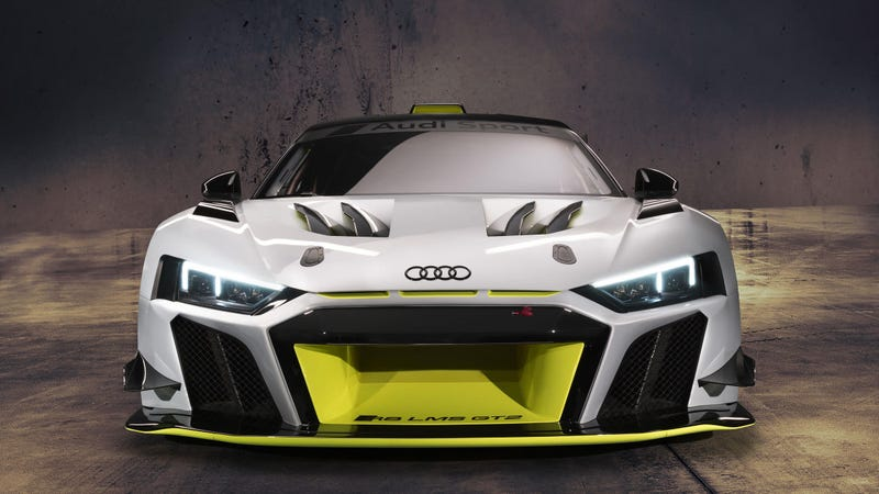 Illustration for article titled Audi's New R8 LMS GT2 is Angry About Something