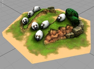 Illustration for article titled Settling Catan is Much More Impressive with 3D Pieces