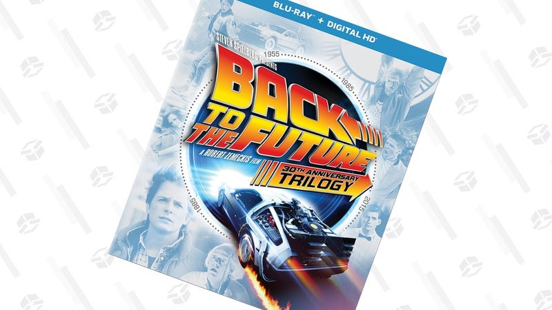 Back to the Future 30th Anniversary Trilogy | $20 | Amazon