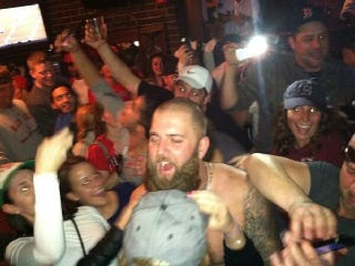 Illustration for article titled Mike Napoli Had A Wild, Drunken, Shirtless Saturday