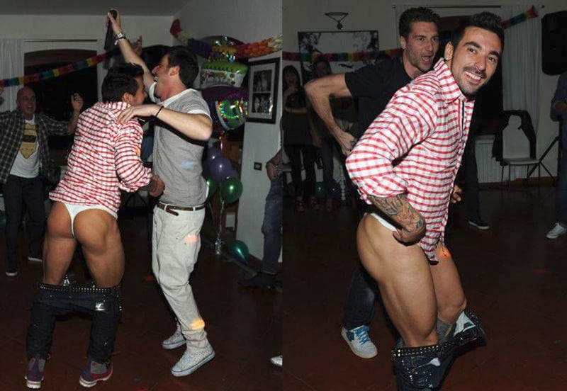 Illustration for article titled Argentine Model Puts Ezequiel Lavezzi On Blast, Posts Pics Of Him In A Thong