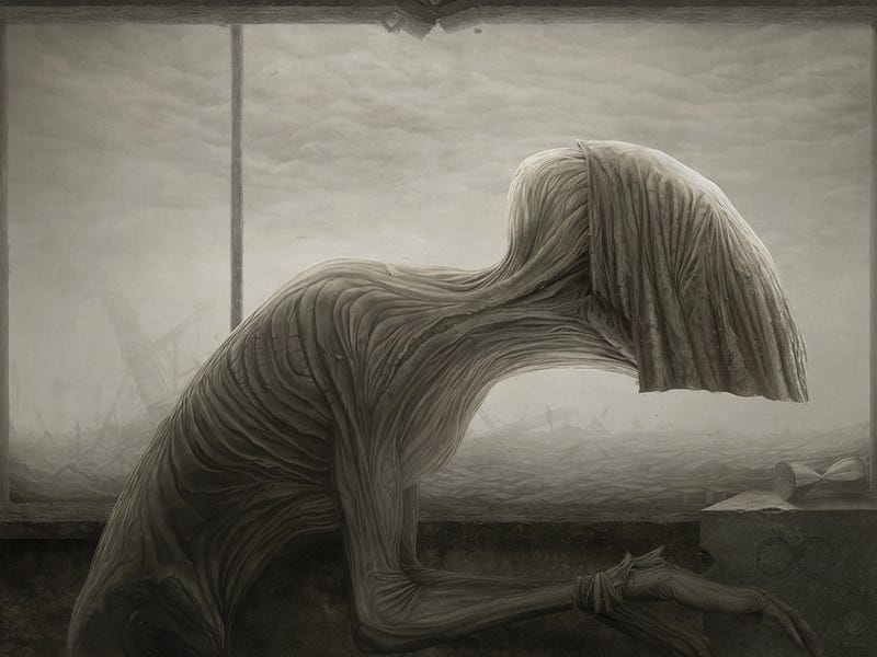 Illustration for article titled Melancholy monsters from your gloomiest nightmares