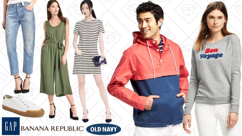 40% off Banana Republic, Old Navy and GAP with code MIDWEEK