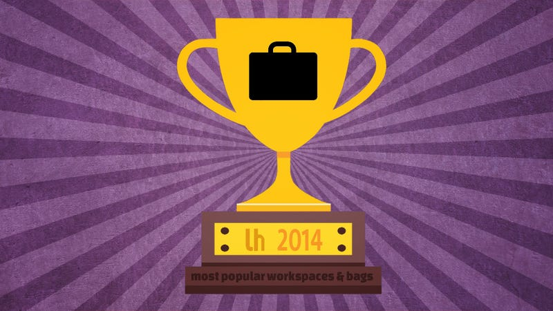 Illustration for article titled Most Popular Featured Bags and Workspaces of 2014
