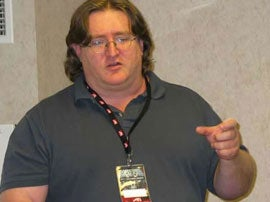 Illustration for article titled Gamers, Gabe Newell Thinks You Are Smart