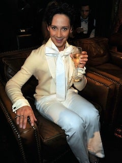 Illustration for article titled Johnny Weir Takes A Break From Skating