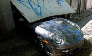 Illustration for article titled Buy the $180K Porsche wrecked by a journalist's son
