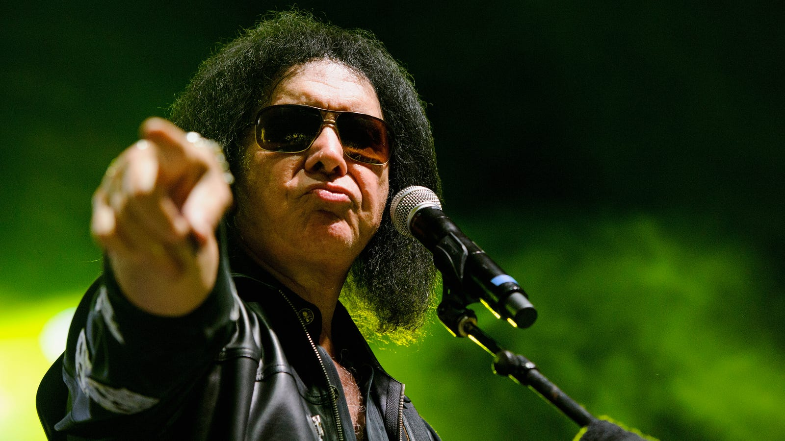 Gene Simmons has been banned for life from Fox News