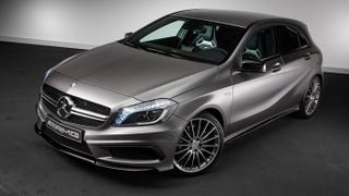 Illustration for article titled It's here: The A45 AMG in the flesh