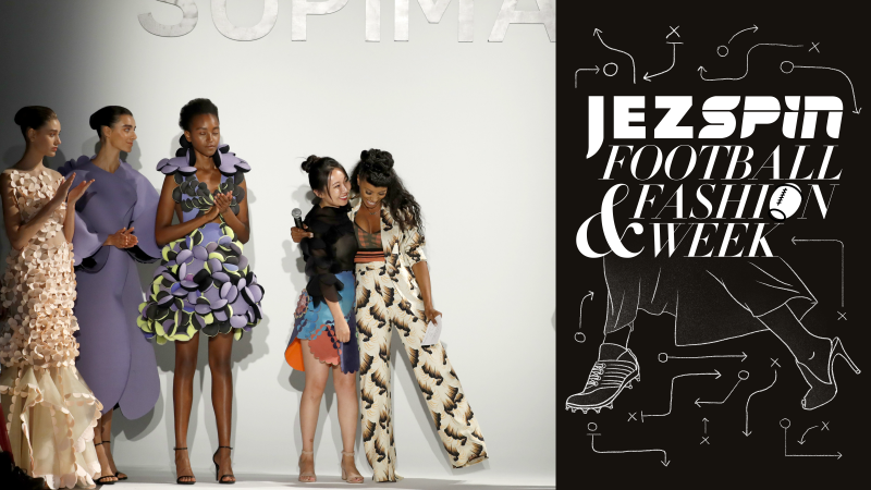 Illustration for article titled Jezspin, New York Fashion Week, Web Swinging with Spidey & More