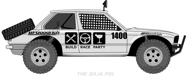 Illustration for article titled The Baja Pig - Part 1, The Big Picture