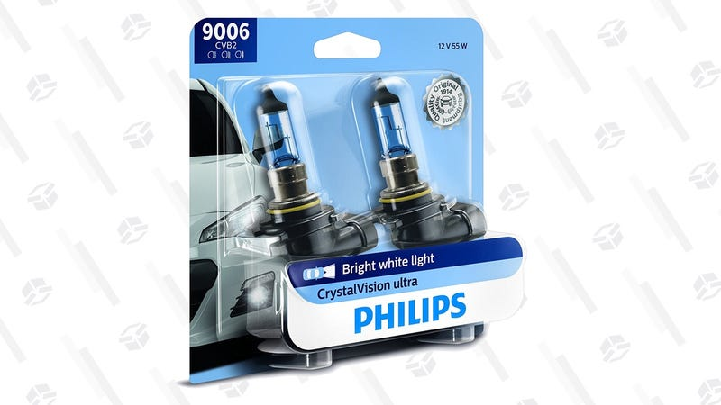 $4 Off Philips CrystalVision Ultra Headlight Bulbs | Amazon