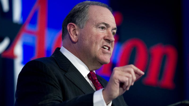 Illustration for article titled Mike Huckabee Wants to Work in a Strip Club Called Washington, I Guess
