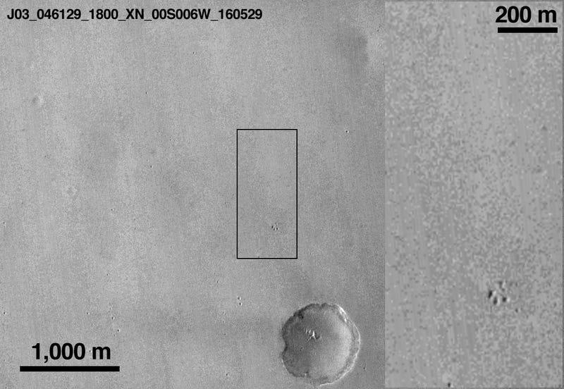 It Looks Like NASA Found ESA's Crashed Mars Lander