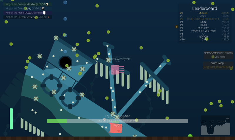 In this .io game, I return as PlzDontSwimByMe