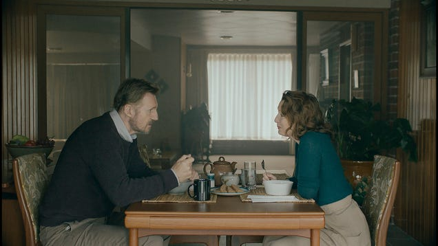 Liam Neeson and Lesley Manville can't cure what ails Ordinary Love