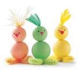 Illustration for article titled Weekend Project: Eggciting Easter crafts
