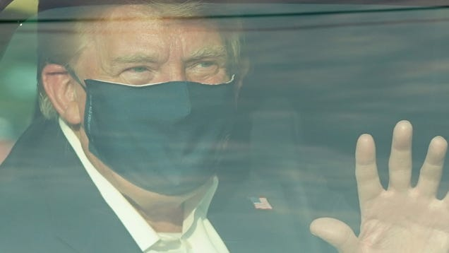 Trump Returning to White House to Possibly Infect Remaining Allies