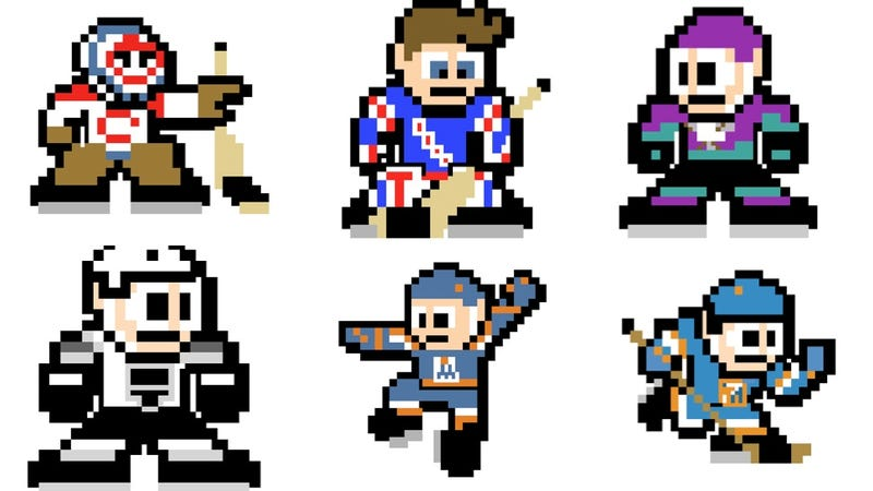 Illustration for article titled Every NHL Team As A Mega Man Sprite