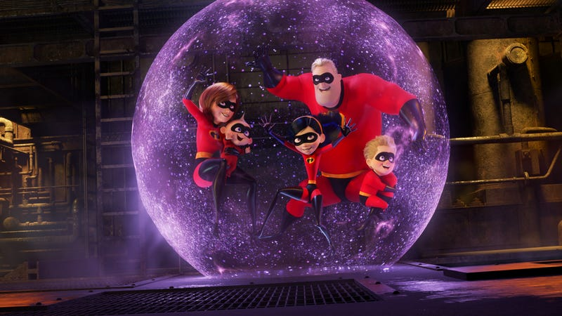 Illustration for article titled The Incredibles 2 is already setting animated box-office records