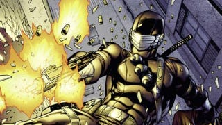 Illustration for article titled Read a seven-page preview of the newest comic book starring Snake Eyes, G.I. Joe's resident ninja