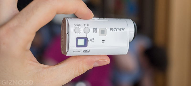 Illustration for article titled Sony Action Cam Mini: A Shrunken Down Shooter For the Adventurous
