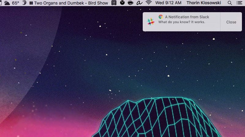 Illustration for article titled Enable Native Notifications in Chrome for OS X