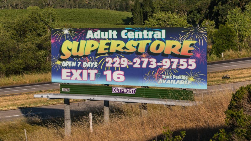 Illustration for article titled Report: There An Adult Superstore Off Exit 16