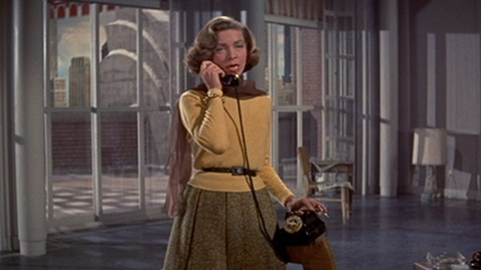 Lauren Bacall Starred Alongside Groundbreaking Tech In This 1953 Film